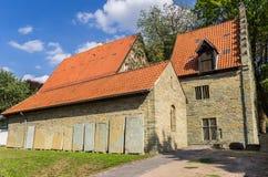 Burghof museum i den historiska mitten av Soest Royaltyfri Foto