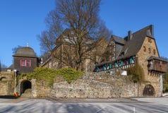 Burgkasteel, Duitsland royalty-vrije stock fotografie