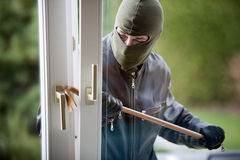 Burglar royalty free stock photos