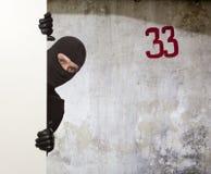Burglar, Ninja Stock Image