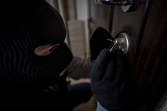 Burglar Royalty Free Stock Images
