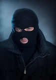 Burglar portrait Stock Photography