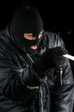 Burglar two Stock Image