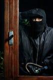 Burglar window Royalty Free Stock Images