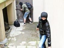 Burglary. Stock Images