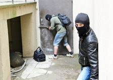 Burglary. Royalty Free Stock Photography