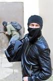 Burglary. Stock Photo