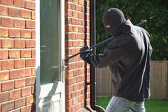 burglary foto de archivo libre de regalías