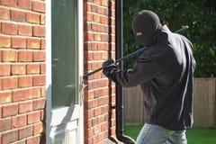 burglary Royalty-vrije Stock Foto