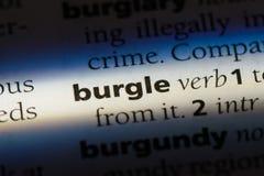 burgle Royalty Free Stock Image