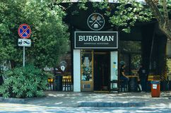 Burgman Boutique Stock Image