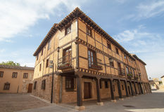 Burgo de Osma in Soria,Spain Royalty Free Stock Image