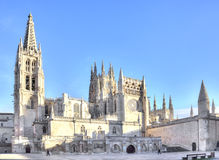 Burgos κυρία καθεδρικών ναών μας στοκ φωτογραφία