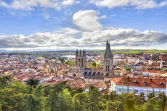 Burgos κυρία καθεδρικών ναών μας στοκ εικόνες