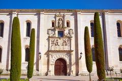 Burgos Cardenal Lopez Mendoza buduje Hiszpania Zdjęcie Royalty Free