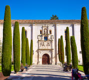 Burgos Cardenal Lopez Mendoza buduje Hiszpania Zdjęcia Royalty Free