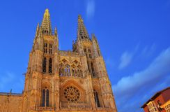 Burgos Cathedral. Stock Image