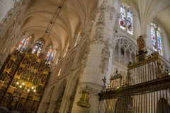 Burgos Cathedral - Burgos - Spain royalty free stock images