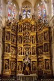 Burgos Cathedral - Burgos - Spain Royalty Free Stock Photos