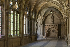 Burgos Cathedral Cloisters - Burgos - Spain Royalty Free Stock Photos