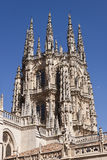 Burgos cathedral detail. Stock Images