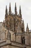 Burgos cathedral. Royalty Free Stock Images