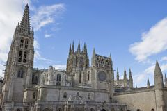 Burgos cathedral. A detail of Burgos cathedral in Spain Royalty Free Stock Photography