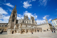 Burgos Cathedral Royalty Free Stock Photos