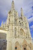 Burgos Cathedral. Stock Photos
