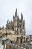 Burgos cathedral Stock Image