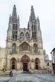 Burgos cathedral Stock Photography