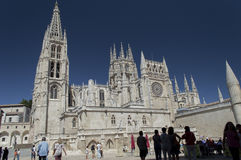 Burgos Cathedral Royalty Free Stock Photography