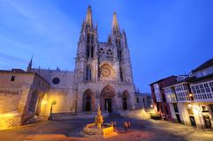 Burgos cathedral. Royalty Free Stock Photography