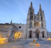 Burgos cathedral. Royalty Free Stock Photos
