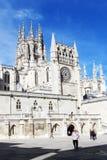 Burgos cathedral Royalty Free Stock Photo