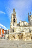 Burgos. Cathedral of Our Lady Royalty Free Stock Photos
