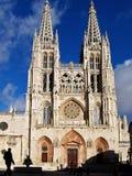 Burgos Cathedral, Spain Royalty Free Stock Photos