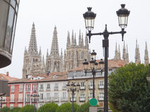 Burgos Cathedral, Spain Royalty Free Stock Photography