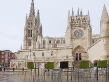 Burgos Cathedral, Spain Royalty Free Stock Photo