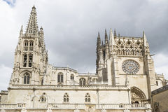 Burgos Cathedral,Spain Royalty Free Stock Images