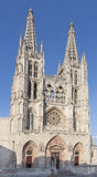 Burgos cathedral, Spain Stock Images