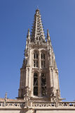 Burgos cathedral tower. Stock Image