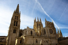 Burgos cathedral Stock Photo
