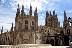Burgos cathedral Royalty Free Stock Photo