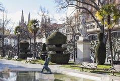 Burgos city Stock Images