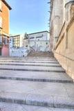 Burgos cityscape Royaltyfri Fotografi