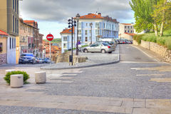 Burgos cityscape Royaltyfri Bild