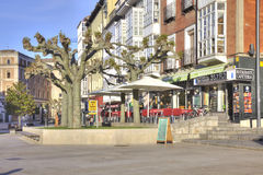 Burgos cityscape Royaltyfria Foton