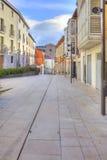 Burgos cityscape Arkivfoton