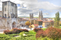 Burgos. cityscape Stock Image